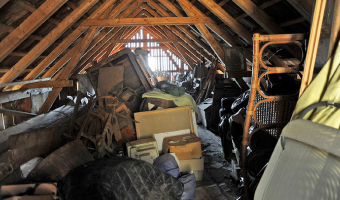 Attic-clearing